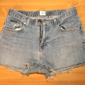 Calvin Klein Cutoff Shorts *3 for $15*